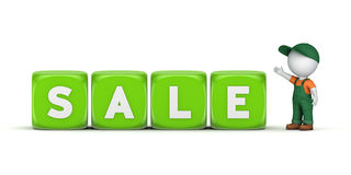 Word SALE Royalty Free Stock Photo