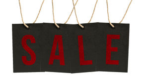 Word Sale on Tags. Stock Image