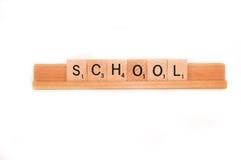 Word school Royalty Free Stock Photo