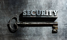 Word security Royalty Free Stock Photography