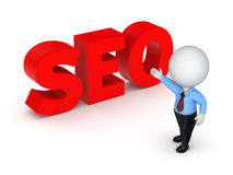 Word SEO. Royalty Free Stock Photo