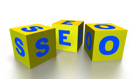 Word SEO Stock Photography