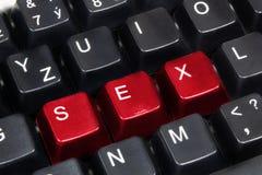 Word sex Royalty Free Stock Photos