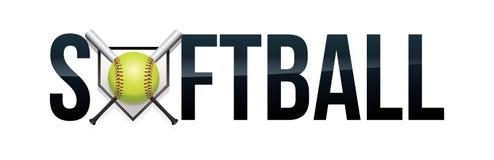 Softball Concept Word Art Illustration vector illustration