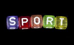 Word sport Stock Photo