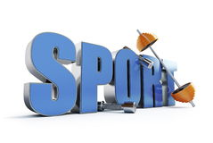 Word sports Royalty Free Stock Photos