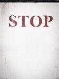 Word stop  Stock Photo