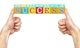 Word success Stock Images