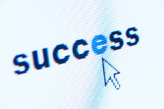 Word success Royalty Free Stock Photography