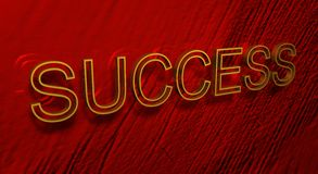 Word Success Stock Image