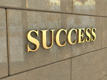 Word Success Royalty Free Stock Photo