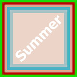 Word Summer on abstract background Royalty Free Stock Photography