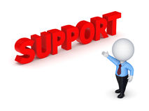 Word SUPPORT. Royalty Free Stock Photo