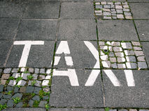 Word taxi Royalty Free Stock Images