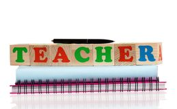Word TEACHER Royalty Free Stock Images