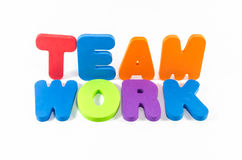 The word TEAMWORK Royalty Free Stock Image