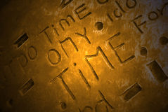 Word time Stock Photo