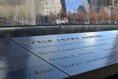 Word Trade Center Memorial Royalty Free Stock Photos