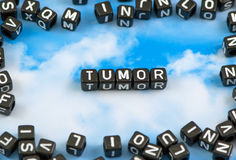The word Tumor Royalty Free Stock Photography
