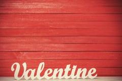 Word Valentine Stock Image