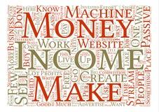 Word van de Achtergrond wolkentekst Concept Stock Fotografie