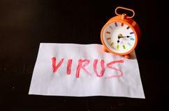 Word Virus Text Royalty Free Stock Image