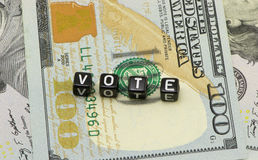 Word Vote Royalty Free Stock Photography