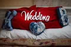Word white wedding Stock Photo