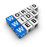 Word wide web Stock Photo