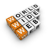 Word wide web Royalty Free Stock Images
