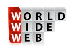 Word wide web Stock Images