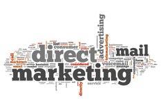Word Wolk Direct-marketing vector illustratie