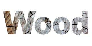 Word wood Stock Photography