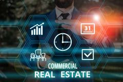 Free Word Writing Text Commercial Real Estate. Business Concept For Income Property Building Or Land For Business Purpose Royalty Free Stock Photography - 160894057