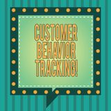 Word writing text Customer Behavior Tracking. Business concept for Action that a user takes related to your company. Square Speech Bubbles Inside Another with vector illustration