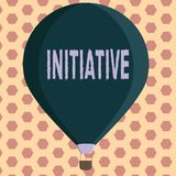 Word writing text Initiative. Business concept for Ability to assess and initiate things independently Motivation.  stock illustration