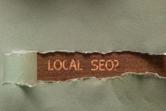 Word writing text Local Seoquestion. Business concept for incredibly effective way to market your local business online. Word writing text Local Seoquestion royalty free stock photo