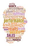 Wordcloud illustration of business words. Background concept wordcloud illustration of business words Royalty Free Illustration