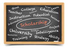 Wordcloud Scholarship Stock Photography