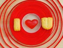 Wordi-Liebe uValentine Hintergrund Lizenzfreies Stockfoto
