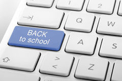 Wording Back to School Royalty Free Stock Photo