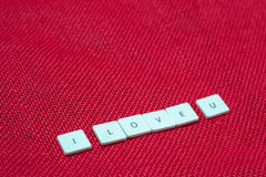 Wording love Royalty Free Stock Images