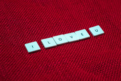 Wording love Royalty Free Stock Photography