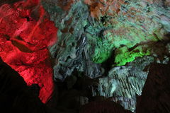 On the wordly caves, Vietnam. Visit the caves terrestrial , Baie de l`halong Vietnam Royalty Free Stock Photos
