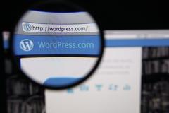 WordPress Стоковые Фотографии RF