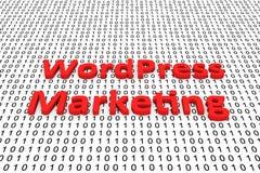 WordPress marketing Royalty Free Stock Photography