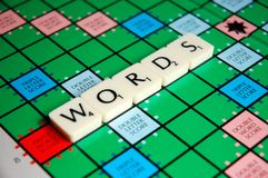 WORDS Royalty Free Stock Photos