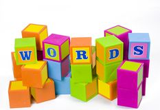 Words Stock Photo