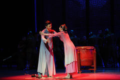 Words of the deceased-The third act of dance drama-Shawan events of the past. Guangdong Shawan Town is the hometown of ballet music, the past focuses on the Royalty Free Stock Image