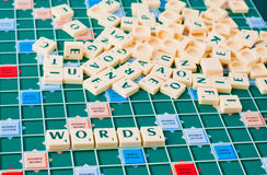 Words game Stock Photos